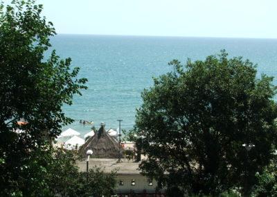 Blick vom Meeresgarten in Varna