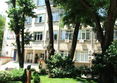Garten der Med. Uni Varna