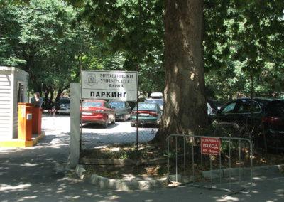 Parkplatz der Medizinischen Universität