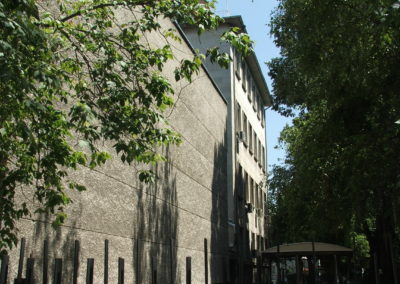 Rückseite der Med. Uni Varna