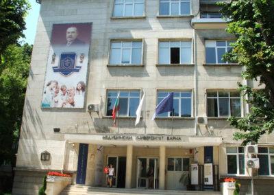 Haupteingang der Med. Uni Varna 2