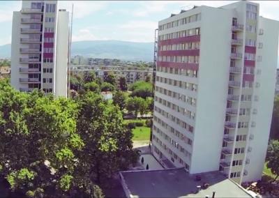 Studentenwohnheim der Med. Uni Plovdiv